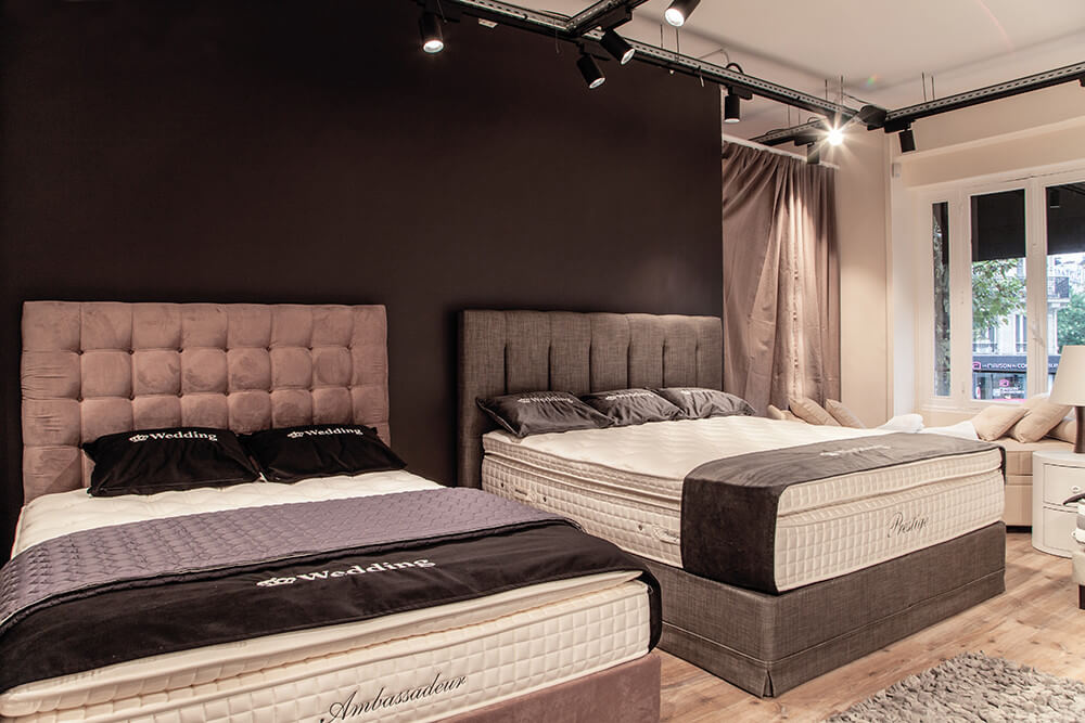 magasins sp cialis s en matelas et sommier. Black Bedroom Furniture Sets. Home Design Ideas