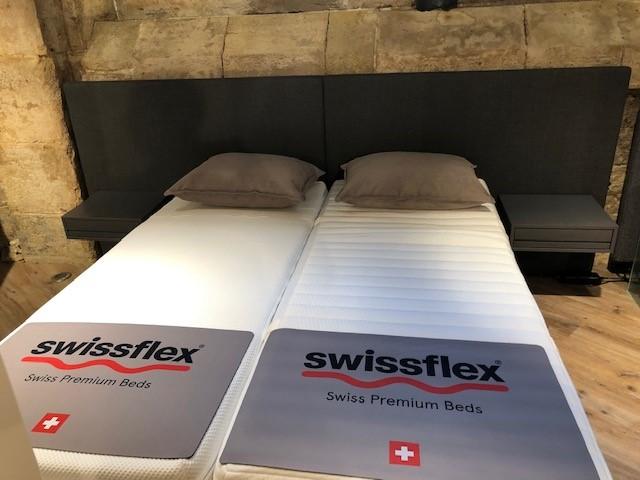 Literie swissflex 4 a prix cassé paris sébastopol