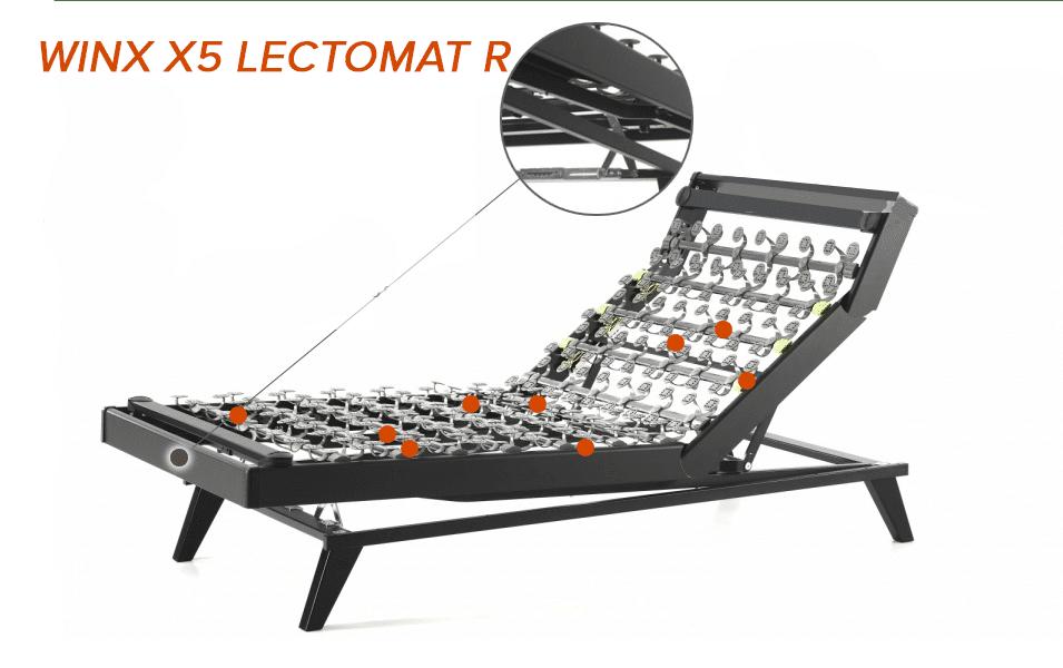 Sommier Lattoflex Winx X5-341